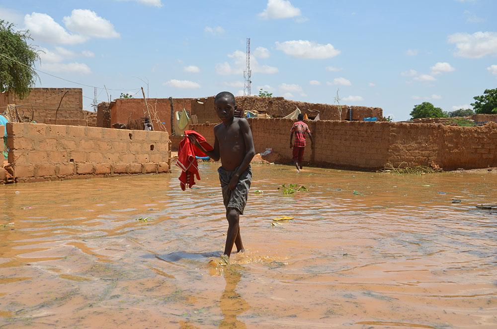 Niamey désemparée face à la montée des eaux