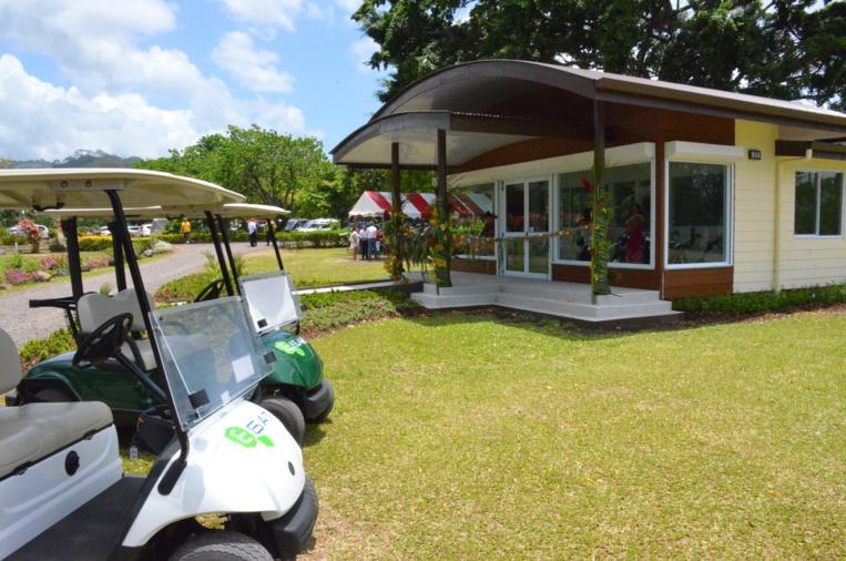 Le club-house du golf d'Atimaono rénové en 2020