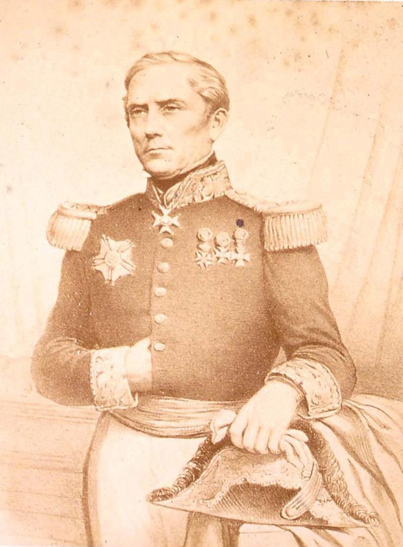 Armand Joseph Bruat fut le protecteur de de Ginoux et c'est grâce à lui que L'Océanie Française, le premier journal francophone de Tahiti, vit le jour.