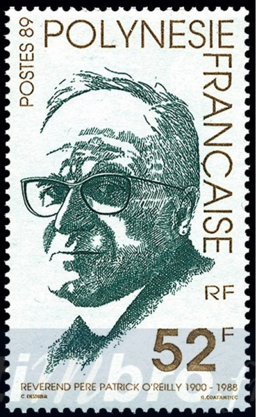 Le père O'Reilly, éminent biographe des personnalités de Tahiti, réputé pour sa réserve, étrilla littéralement de Ginoux dans le texte qu'il lui consacra.