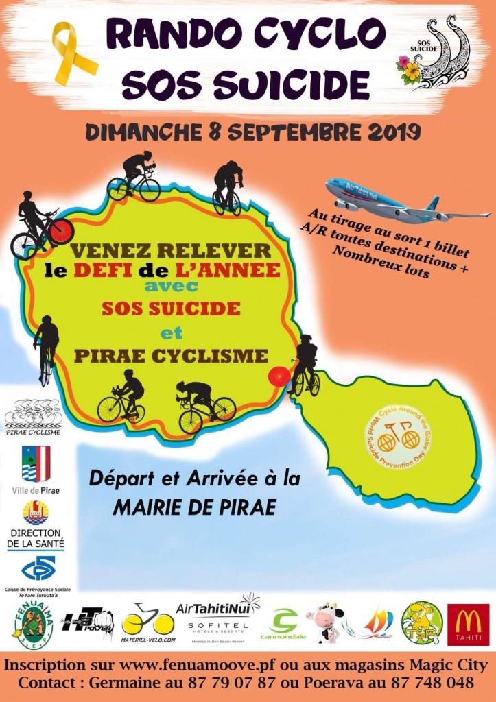 Une course de vélo pour prévenir le suicide