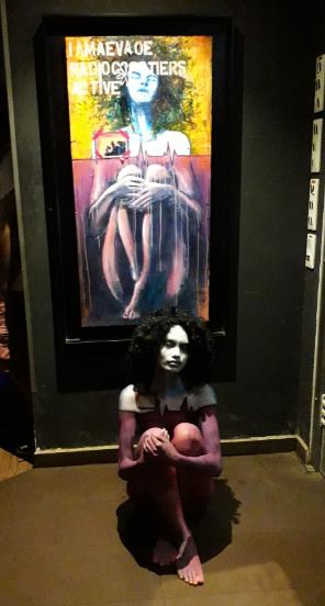 Lors de la soirée inaugurale, plusieurs animations ont été proposées dont du body paintingLors de la soirée inaugurale, plusieurs animations ont été proposées dont du body painting. .