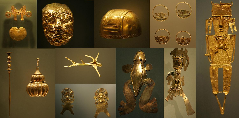 L'extraordinaire variété des formes et des techniques révèle la richesse du travail de l'or dans les Andes précolombiennes.