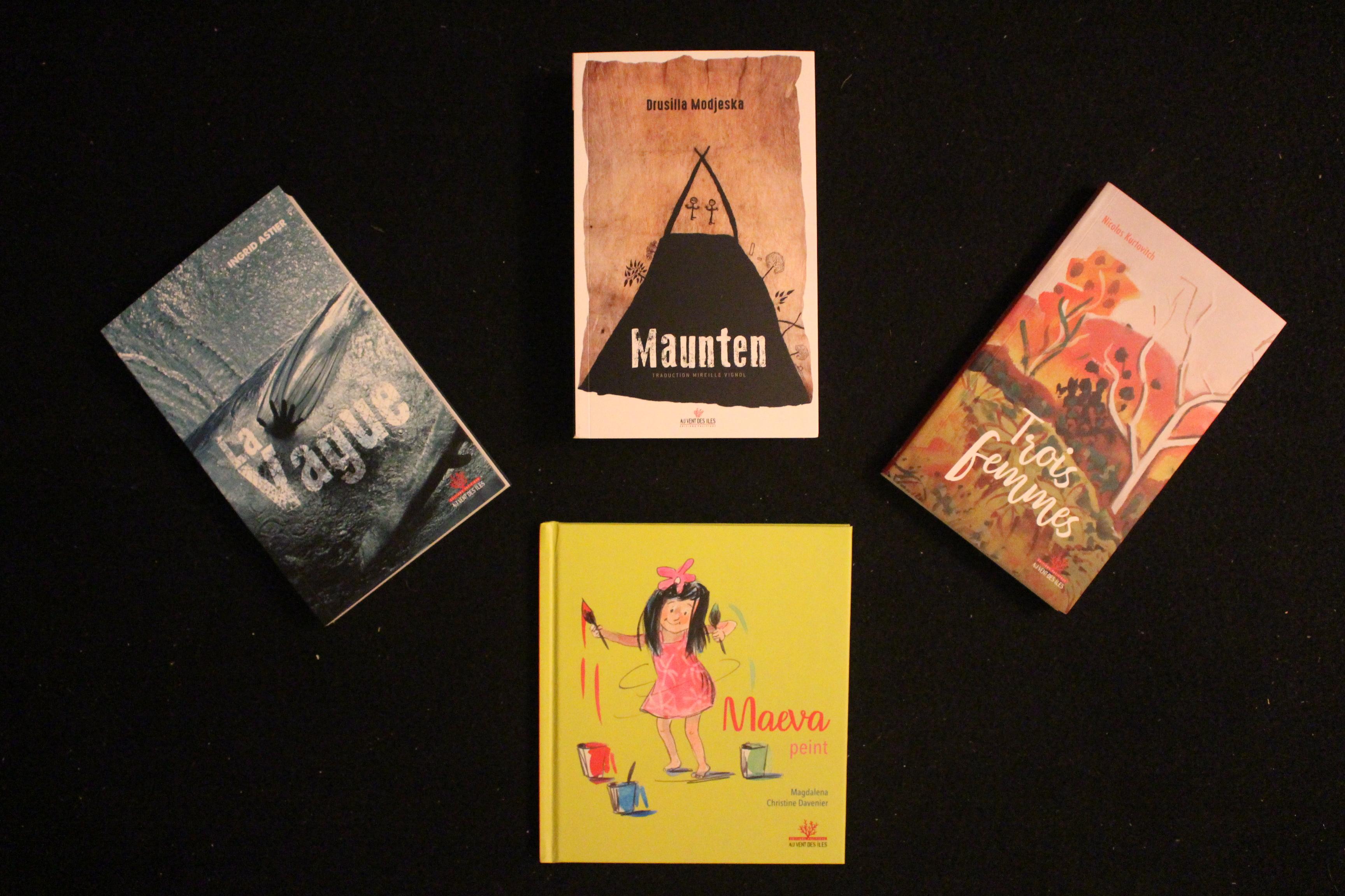 Rentrée littéraire Au Vent des îles : roman, recueil, album jeunesse