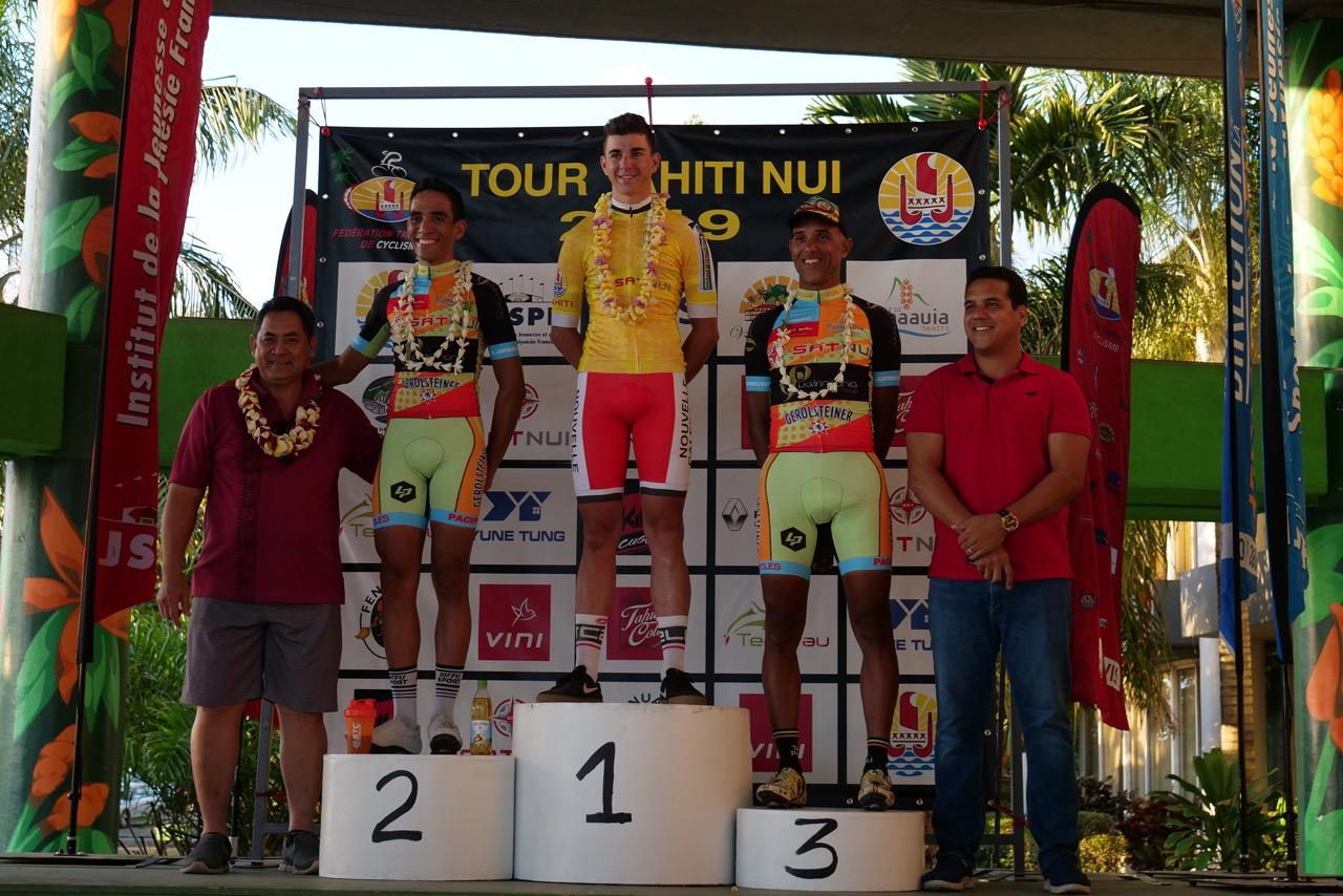 Le jeune Calédonien Ryann Lacheny a remporté la première étape