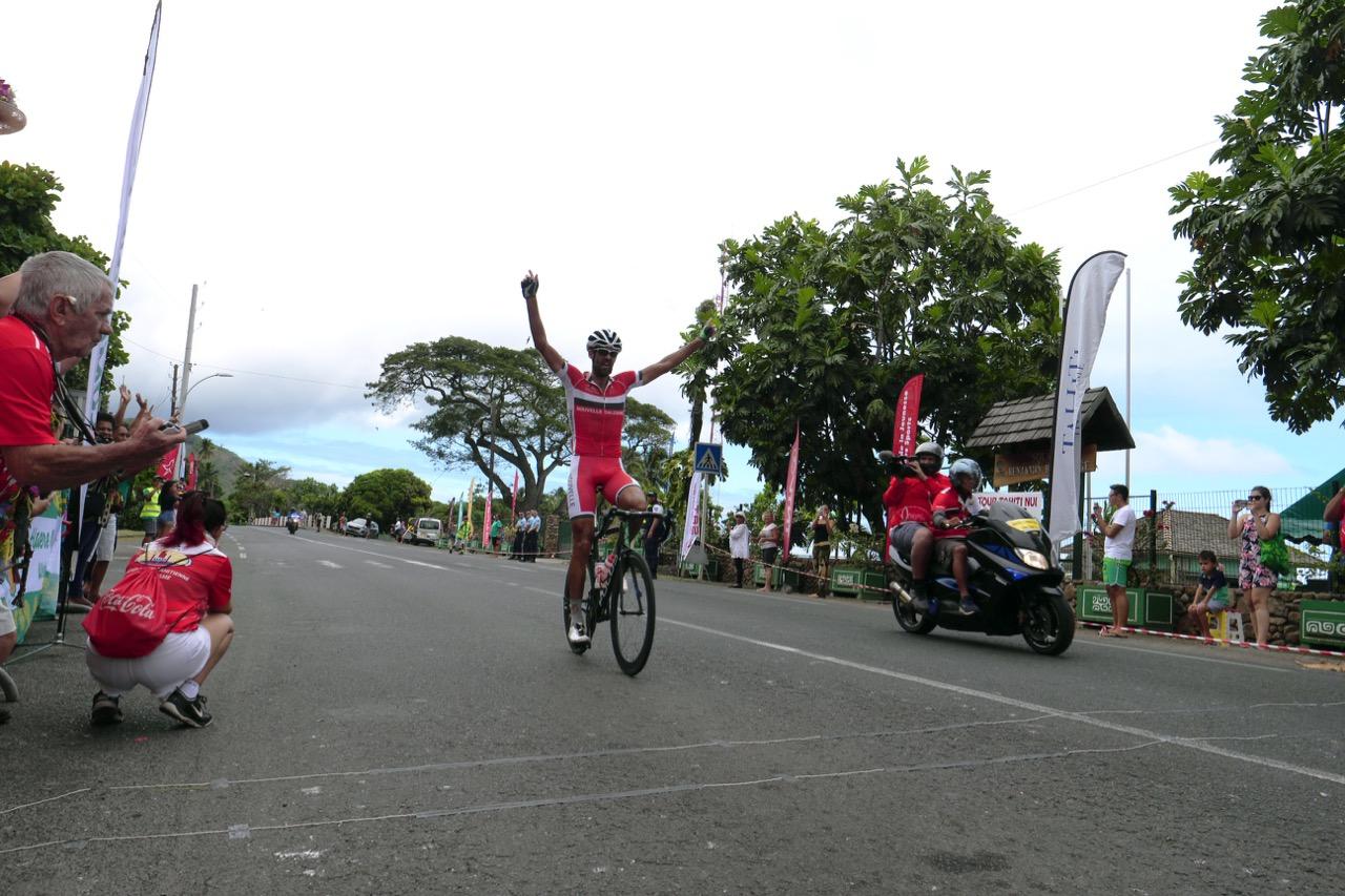 Victoire de Rien Schuuruis lors de la deuxième étape