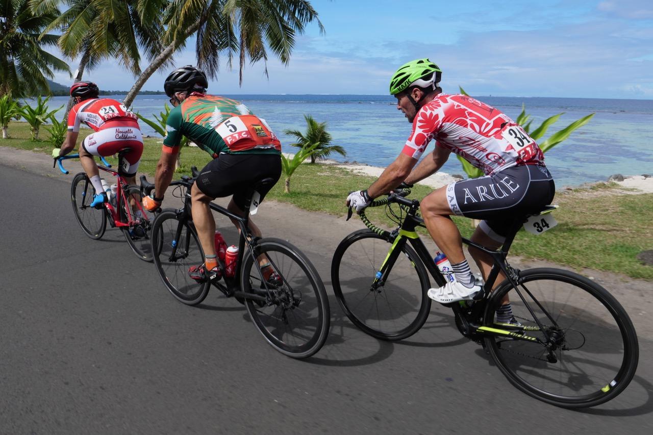 Un décor de rêve pour cette 25ème édition du Tour de Tahiti Nui