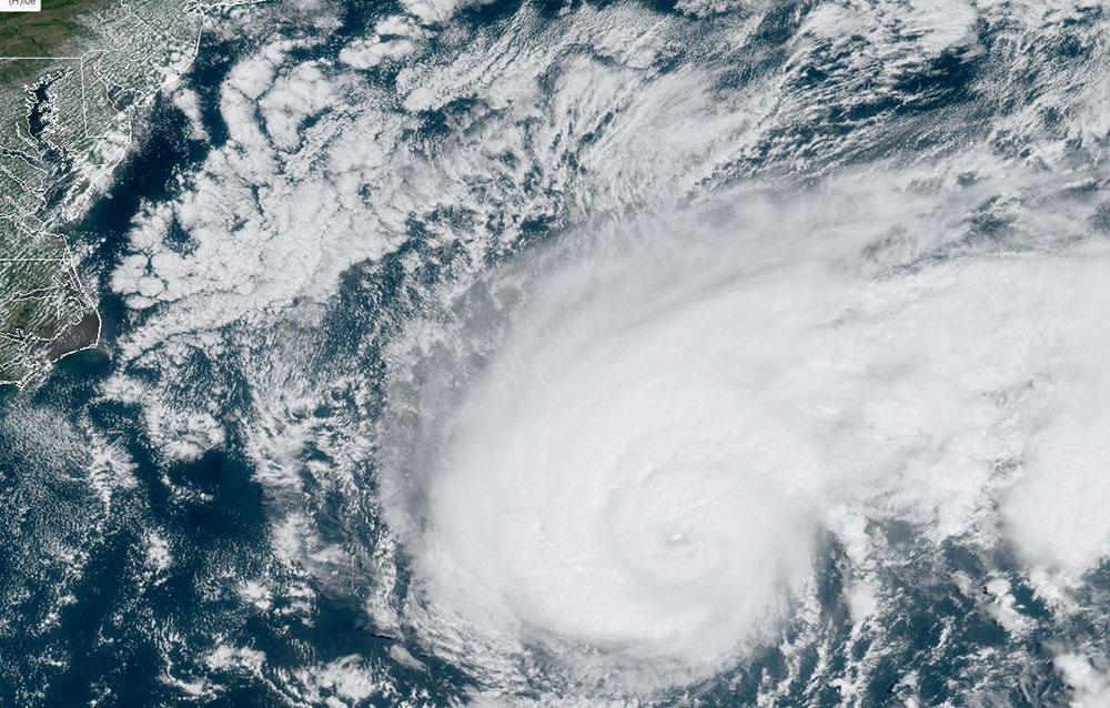 Ouragan Humberto: 28.000 personnes sans électricité aux Bermudes