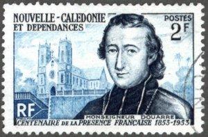 C'est Monseigneur Douarre, évêque en Nouvelle-Calédonie (et qui avait bien du mal à rejoindre son évêché) qui fut à l'origine de la création de la Société française de l'Océanie ; elle devait fonctionner sur le modèle de la London Missionnary Society.