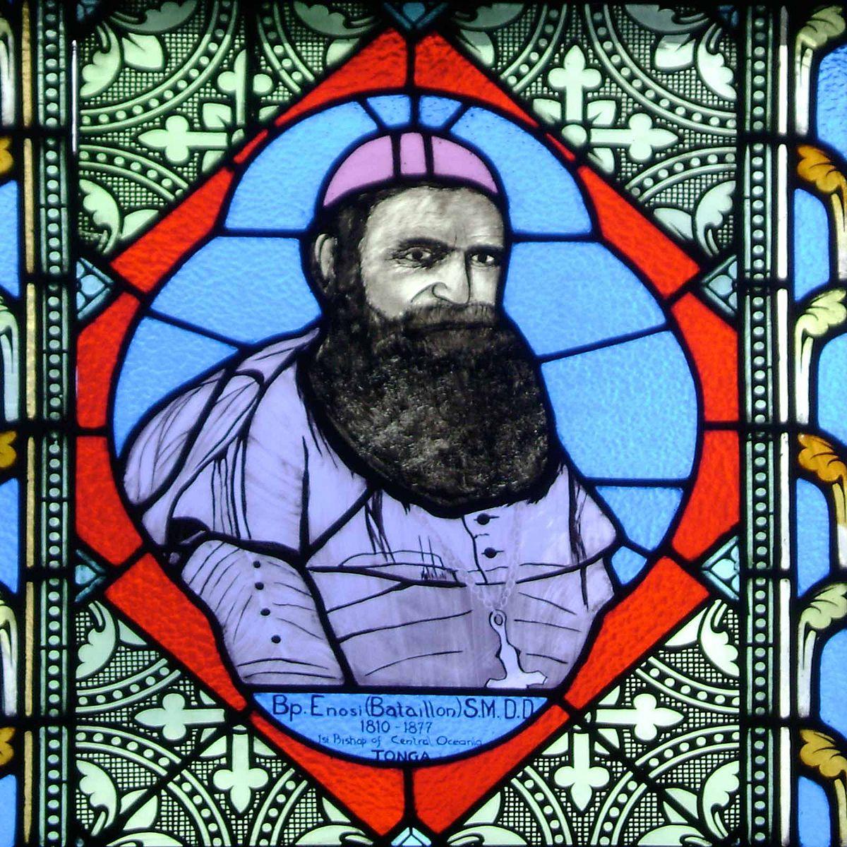 L'évêque Pierre Bataillon instaura une véritable théocratie à Wallis ; il reçut Marceau le 20 octobre 1846.