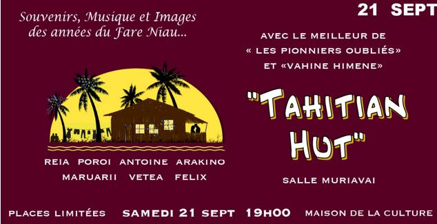 """""""Tahitian Hut"""", le meilleur des pionniers de la musique"""