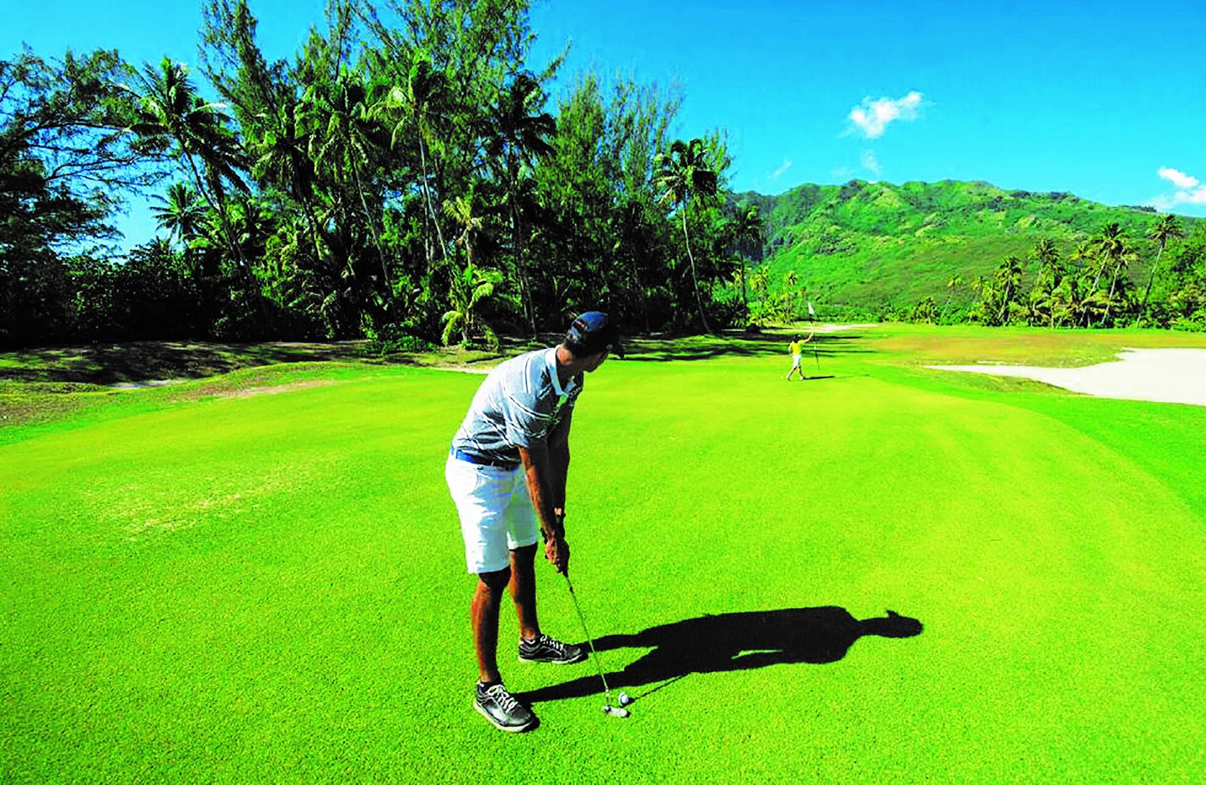 Plus d'une centaine de golfeurs, amateurs comme professionnels, sont attendus à Moorea la semaine prochaine.
