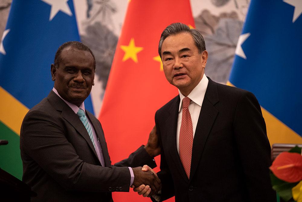 La Chine et les Iles Salomon établissent des relations diplomatiques
