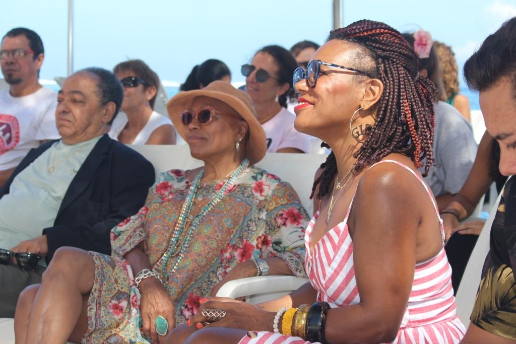 China Moses, chanteuse, a programmé le Tahiti soul jazz festival.