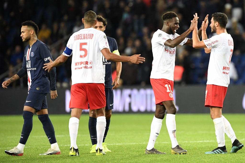 L1: Paris surpris à domicile par Reims