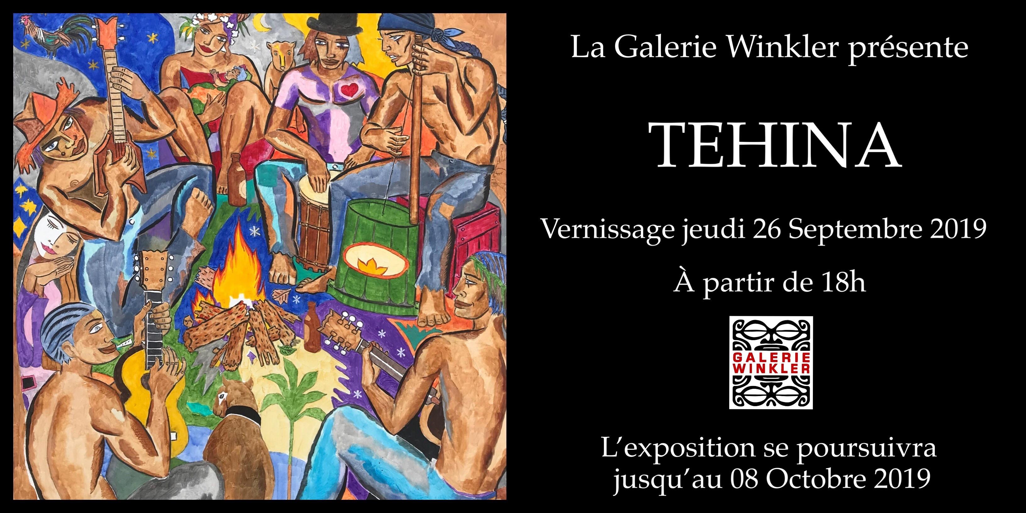 """Tehina offre """"un festival de couleurs"""""""