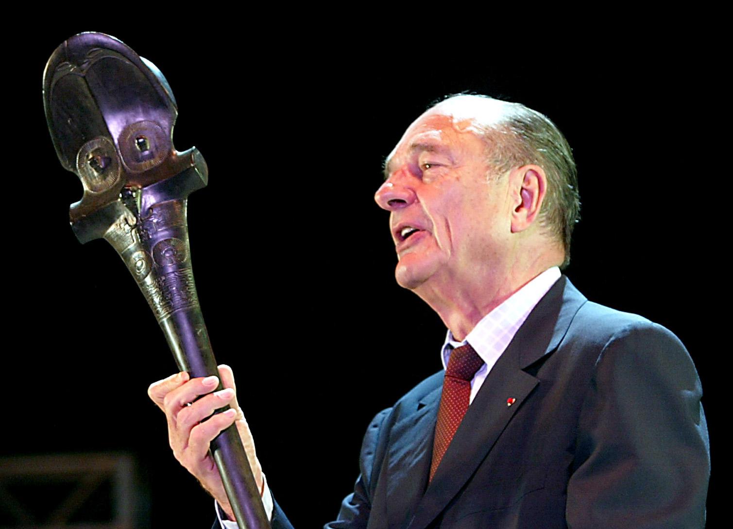 Chirac, l'ami de la Polynésie