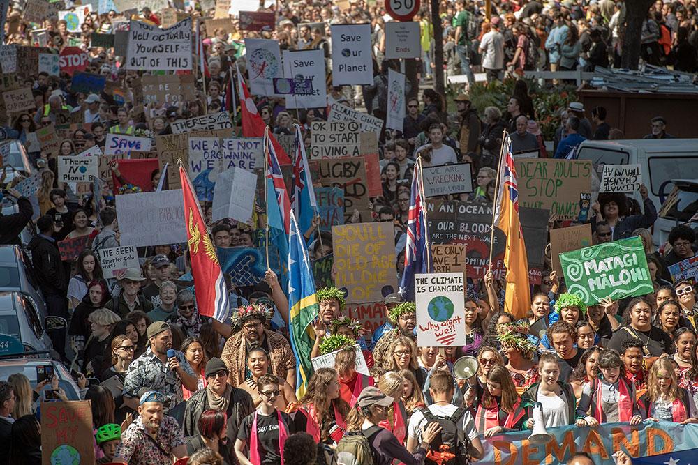 Climat: en Nlle-Zélande, plus de 40.000 personnes pour la grève mondiale pour le climat