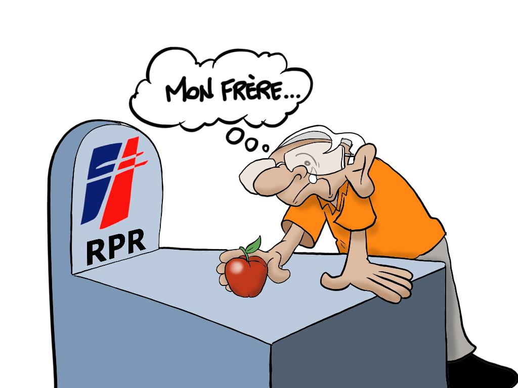 """""""L'hommage à Jacques Chirac"""", par Munoz"""