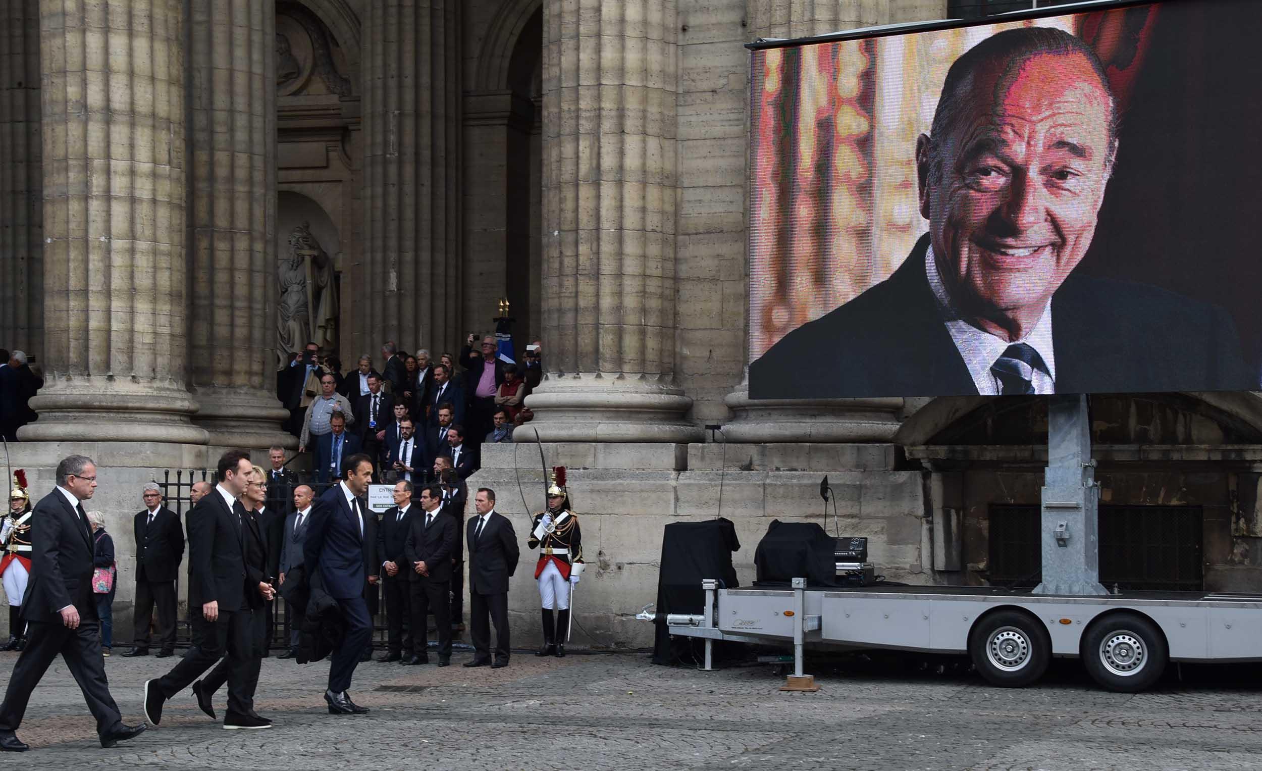 La Polynésie représentée aux obsèques de Chirac