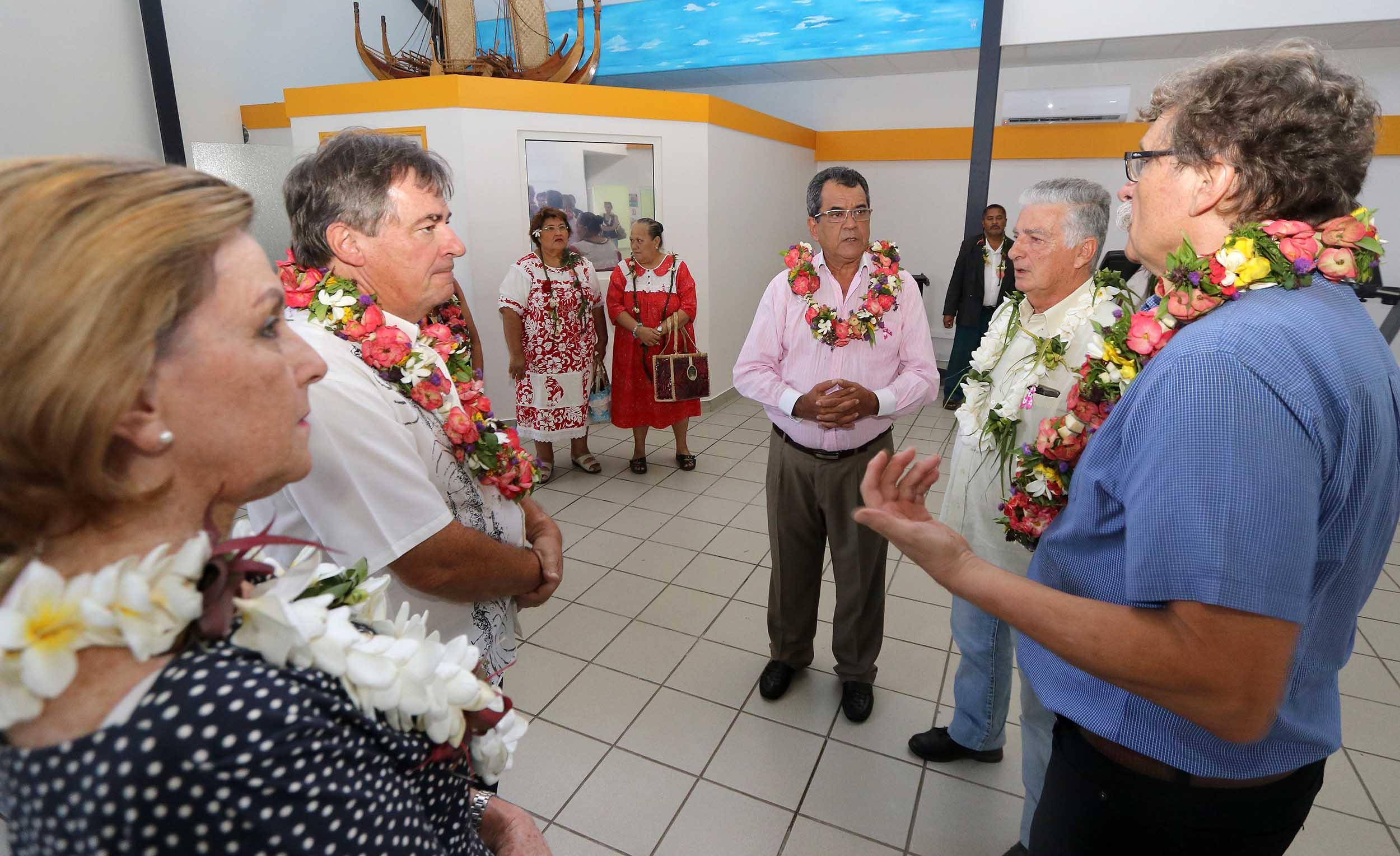 Crédit présidence de la Polynésie.