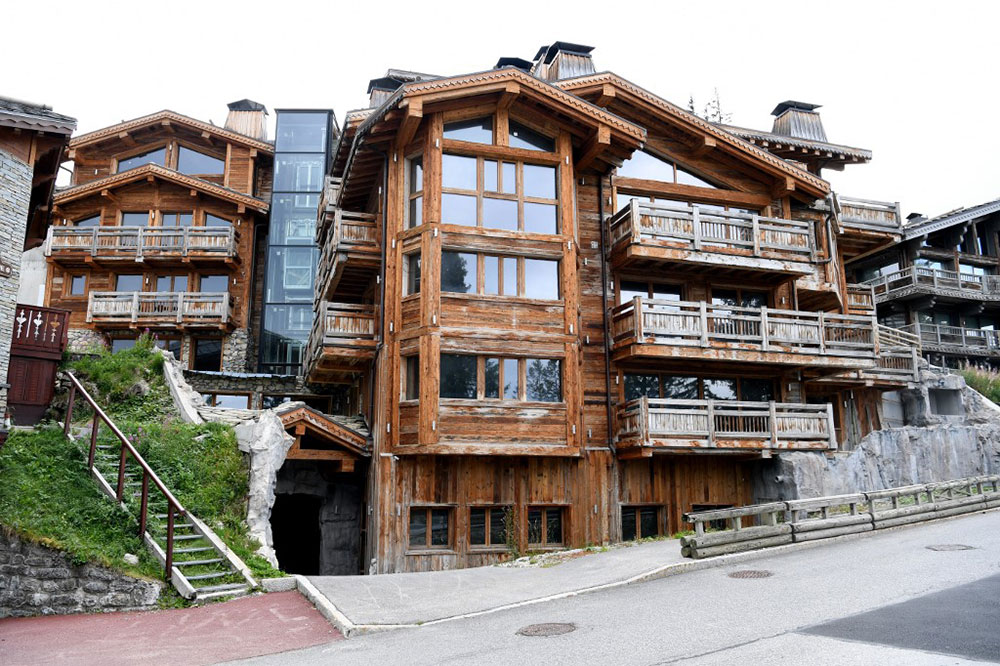 Un chalet à 27 millions d'euros en liquidation à Courchevel