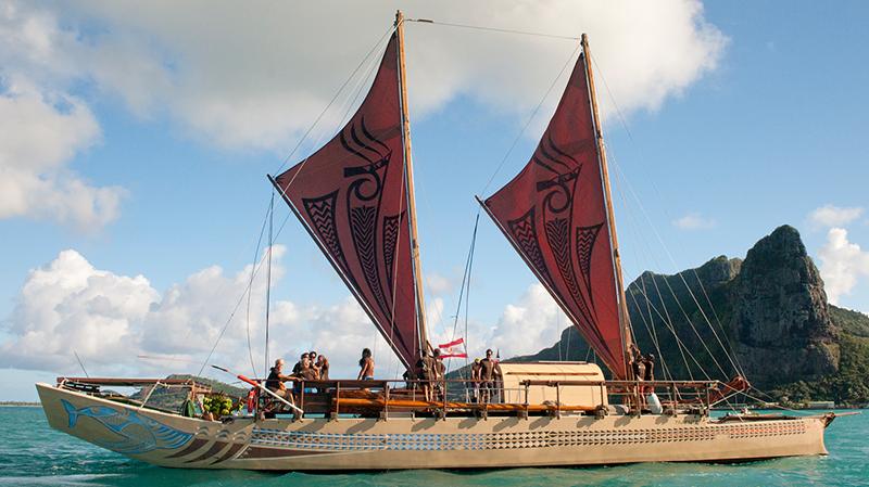 Fa'afaite fait partie de la flottille Tuia 250 qui naviguera tout autour de la Nouvelle-Zélande jusqu'au 15 décembre.
