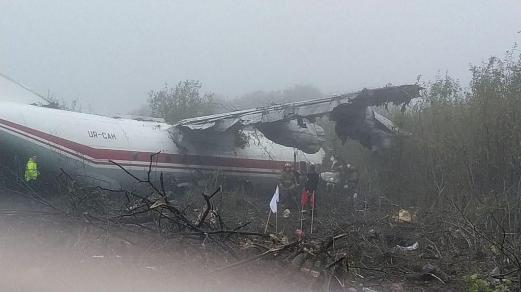 Ukraine: cinq morts dans l'atterrissage d'urgence d'un avion cargo