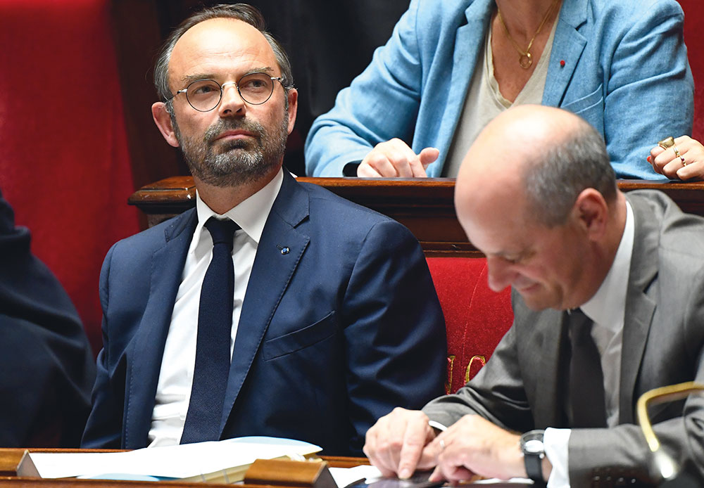 """Immigration: Philippe invite à un changement de """"logiciels"""" lors d'un débat sensible"""