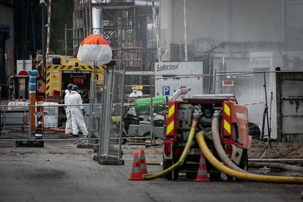 Lubrizol à Rouen: début de l'enquête sur le terrain, 130 plaintes déposées