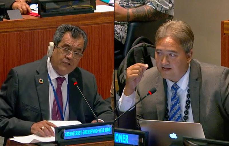 Désinscription contre décolonisation à l'ONU