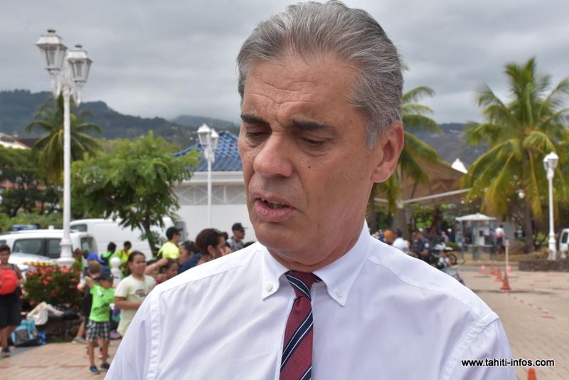 Dominique Sorain, haut-commissaire de la République en Polynésie française.