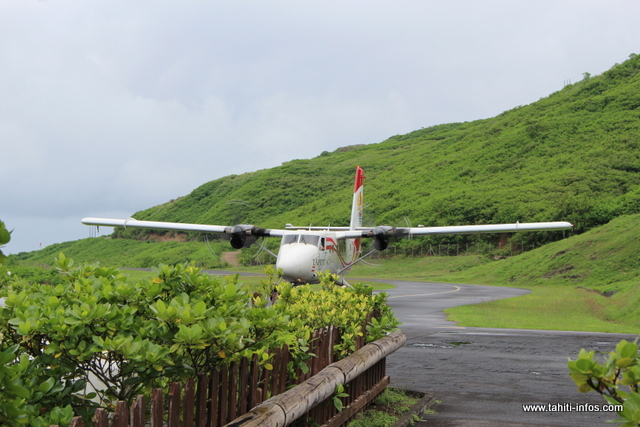 Air Tahiti suspend ses vols inter-îles aux Marquises