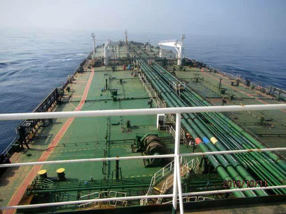 """Un tanker iranien touché par de """"probables"""" frappes de missiles en mer Rouge"""