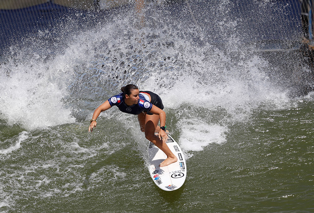 Surf: Johanne Defay, un joyau qui prend de la valeur