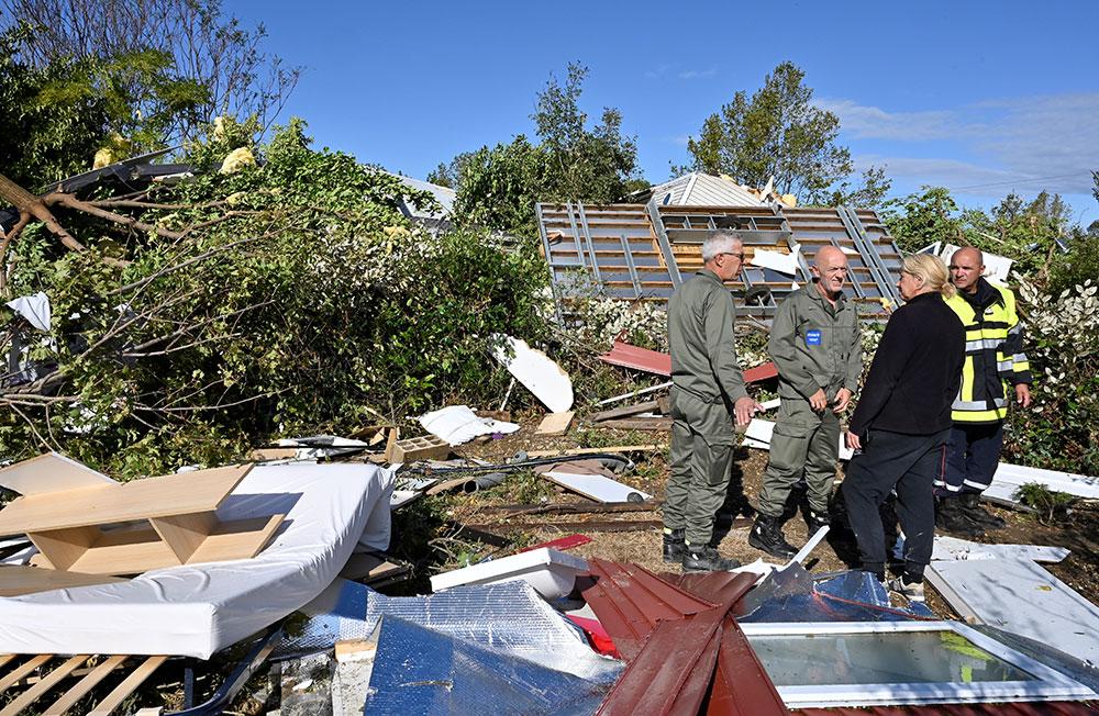 Une tornade à Arles provoque de lourds dégâts, des dizaines d'habitants évacués