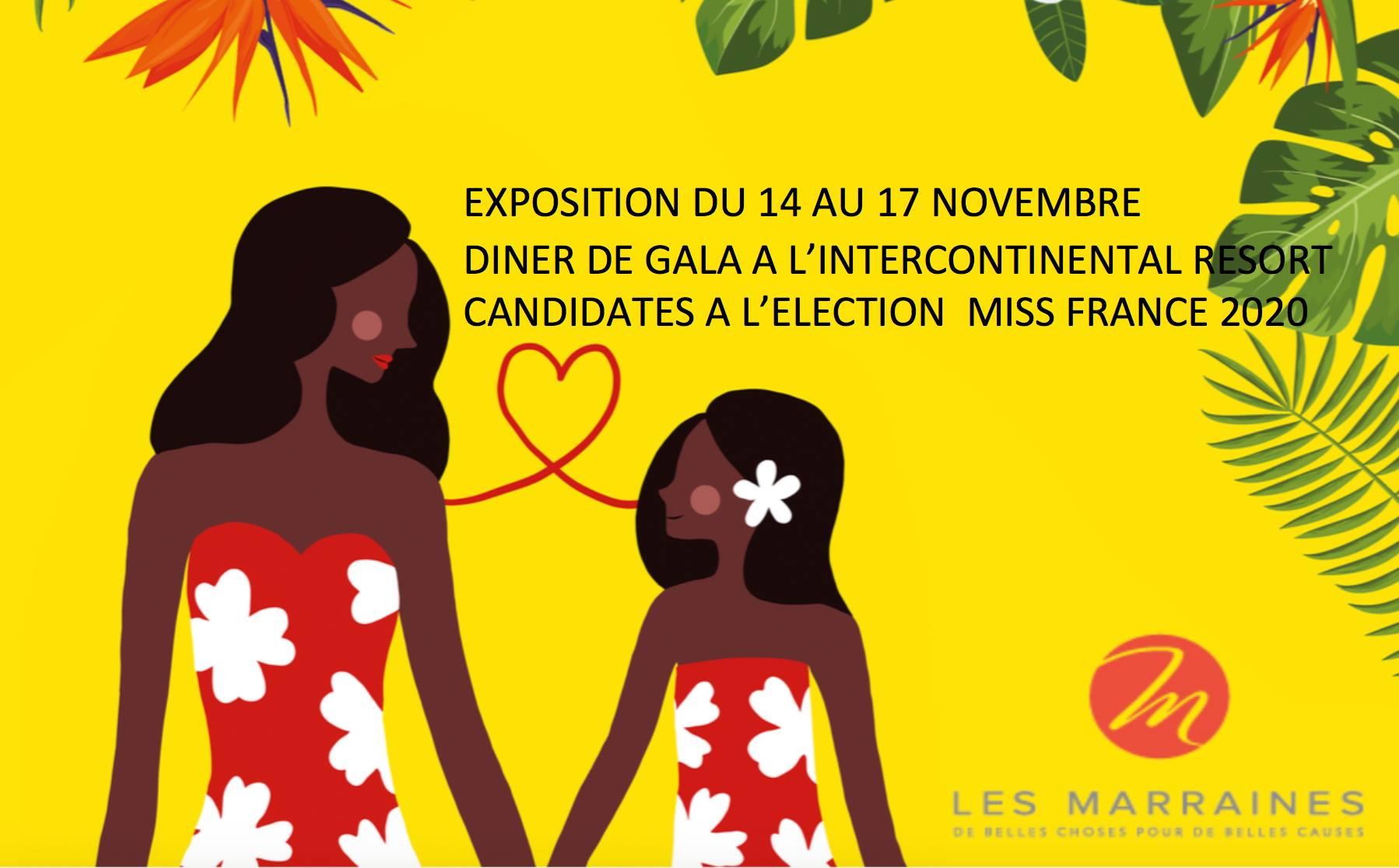 Les candidates à Miss France hôtes du dîner des 20 ans des Marraines