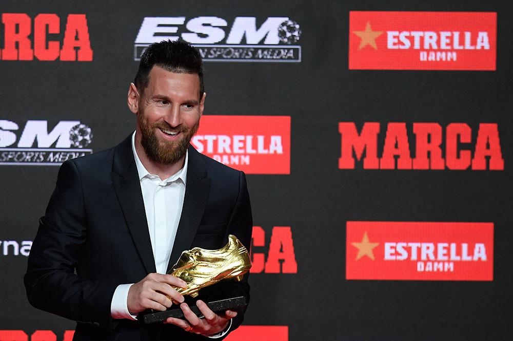 Messi entre un peu plus dans la légende avec son sixième Soulier d'or