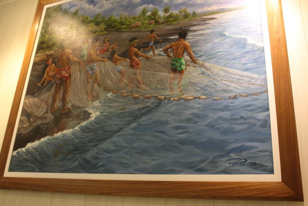 Philippe Peltier a peint le Tahiti d'hier