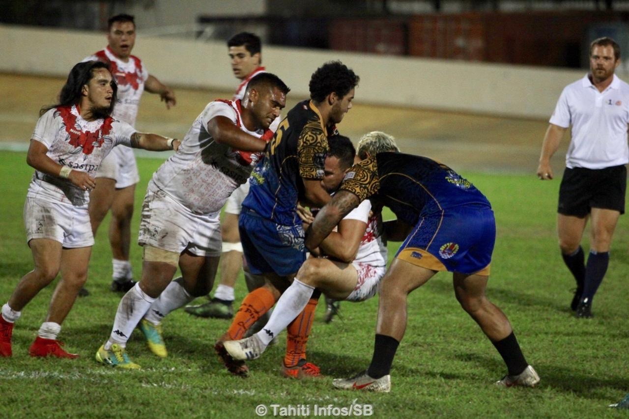 La finale entre le club Matamu'a Rugby et le RC Pirae a été intense