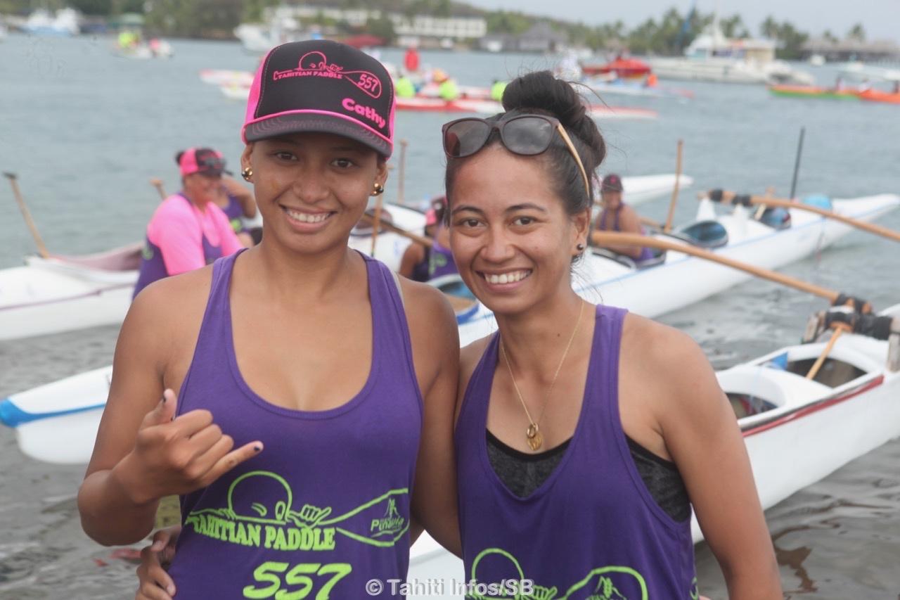 Cathy Lywaut, à gauche, avec sa sœur