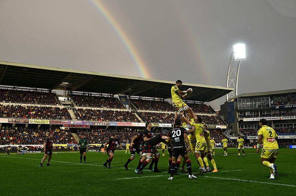 Top 14: Clermont stoppe Lyon et sauve l'honneur des grands