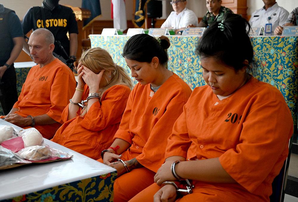 Bali: un Français et deux Thaïlandaises arrêtés pour trafic de drogue