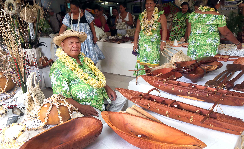 Vous avez jusqu'au 3 novembre pour profiter du Salon des îles Australes, à l'assemblée.