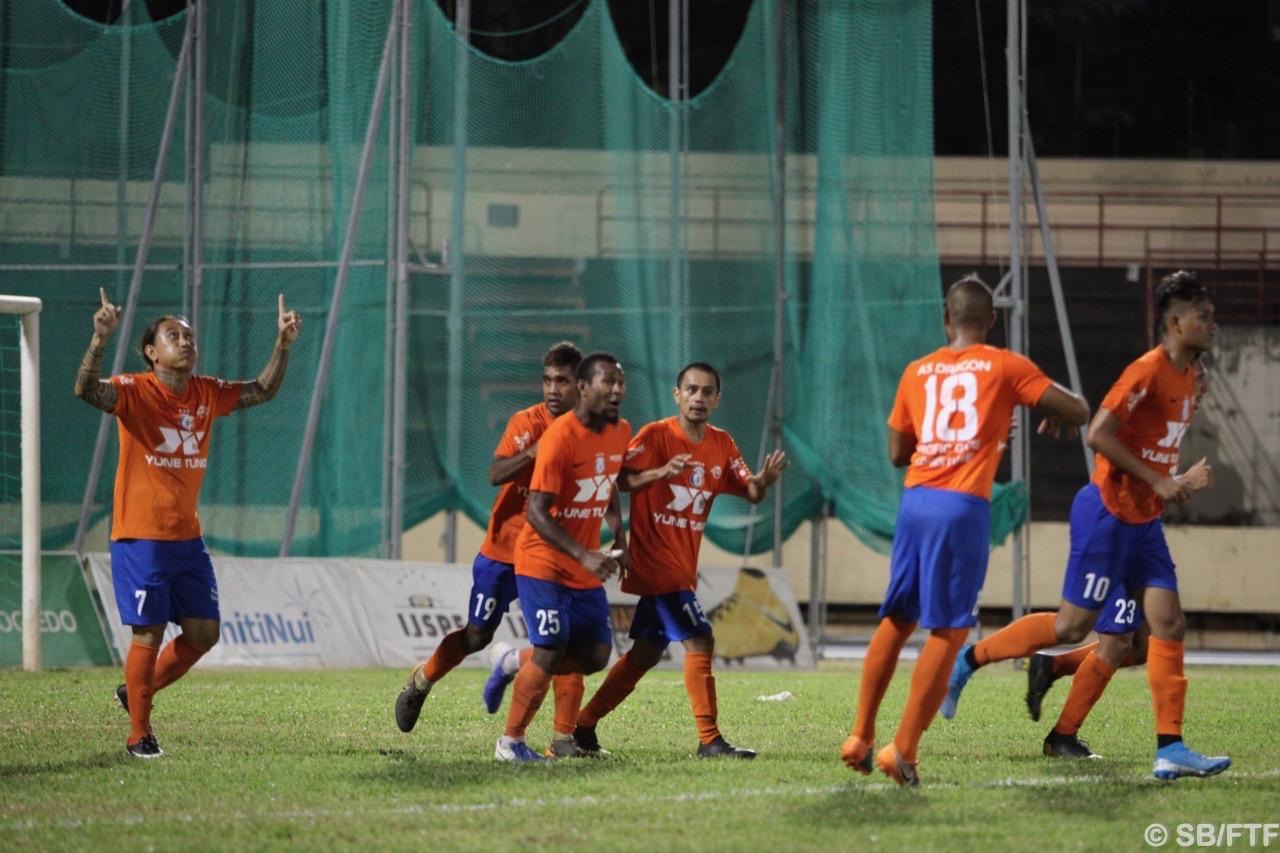 Salomon Tevepauhu a marqué sur penalty peu après son entrée