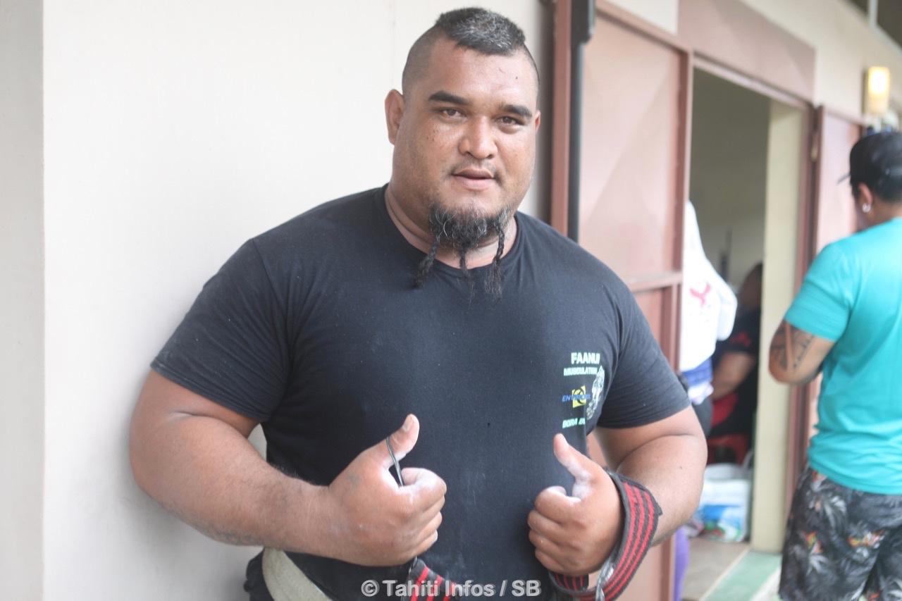 Tario Teraiharoa est venu spécialement de Bora pour participer au championnat