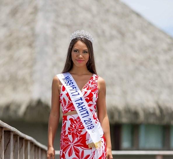 Mareva Lenoir a décroché le 5 octobre dernier l'écharpe de 1ère Dauphine lors de l'élection Purotu & Tāne Taure'a Tahiti.