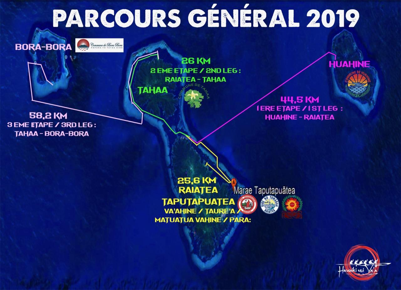 Hawaiki Nui Va'a 2019 s'annonce grandiose