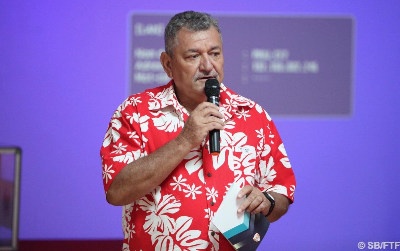 Thierry Ariiotima a été reconduit dans ses fonctions de président de la FTF