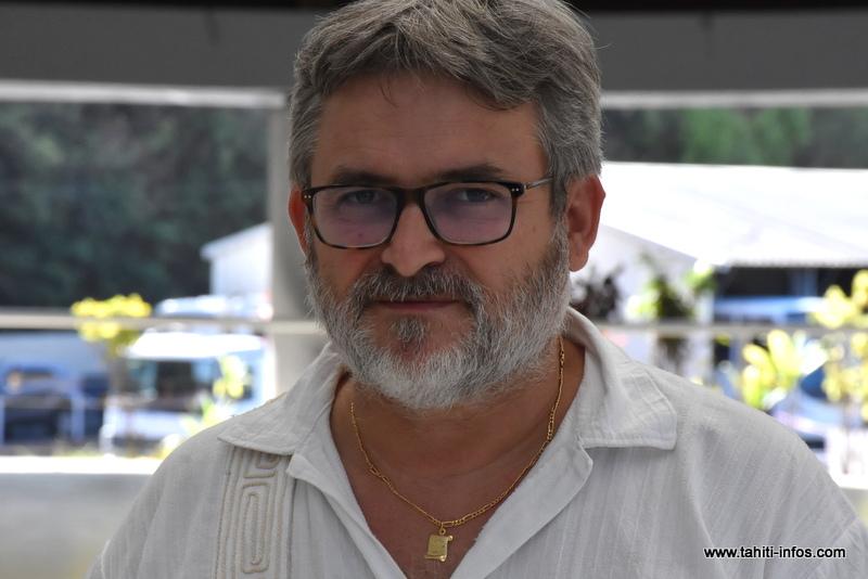 Alain Gergaud, secrétaire national de l'Unsa.